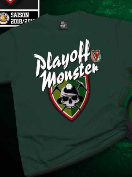 T-Shirt Playoff Monster